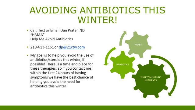 Avoid Antibiotics this Winter!